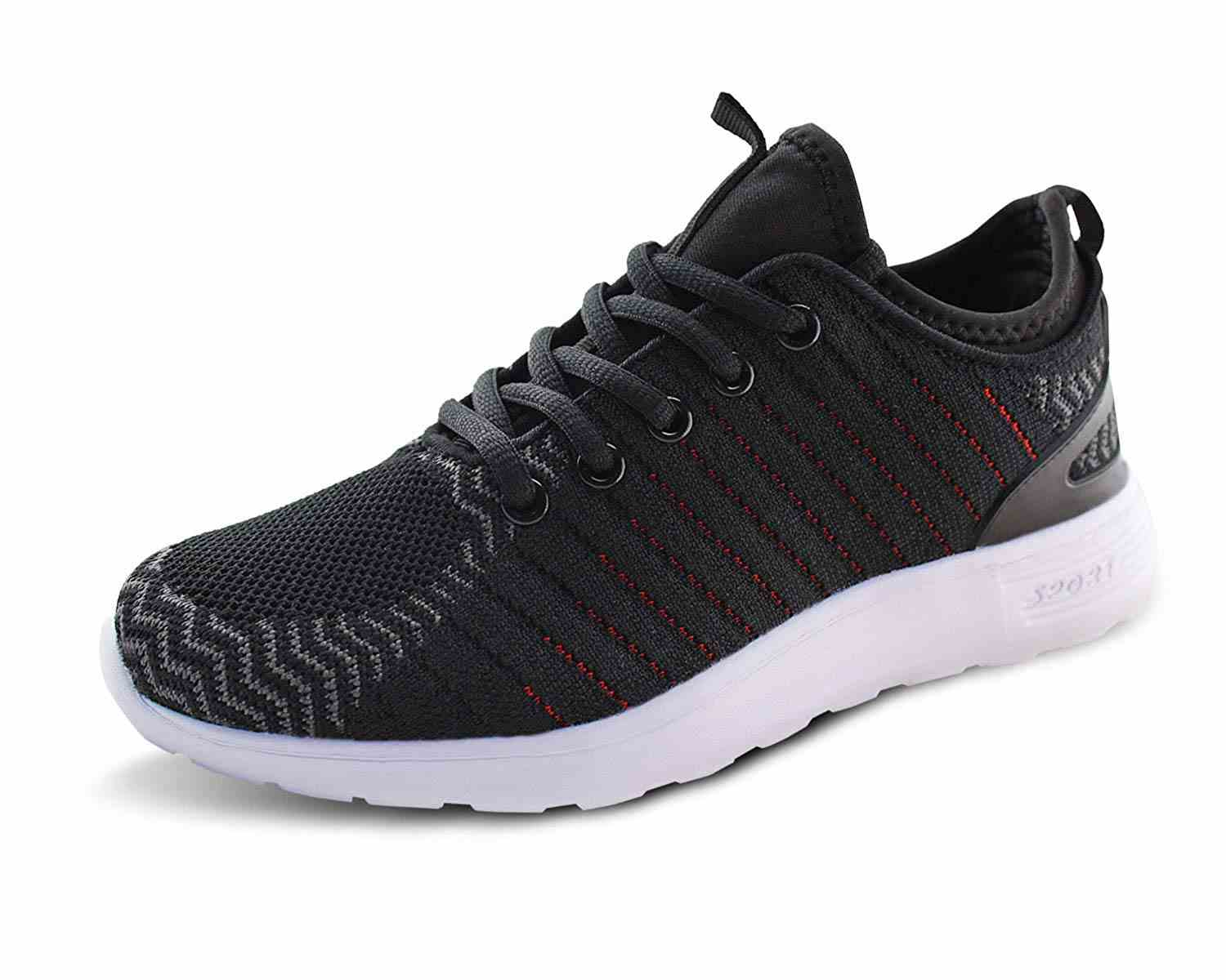 Women Breathable Running Sneakers Lightweight Knit Mesh Walking Shoes