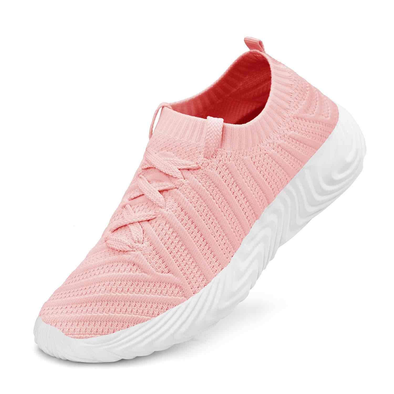Women Sneakers Ultra Lightweight Running Shoes Breathable Slip On Women Shoes