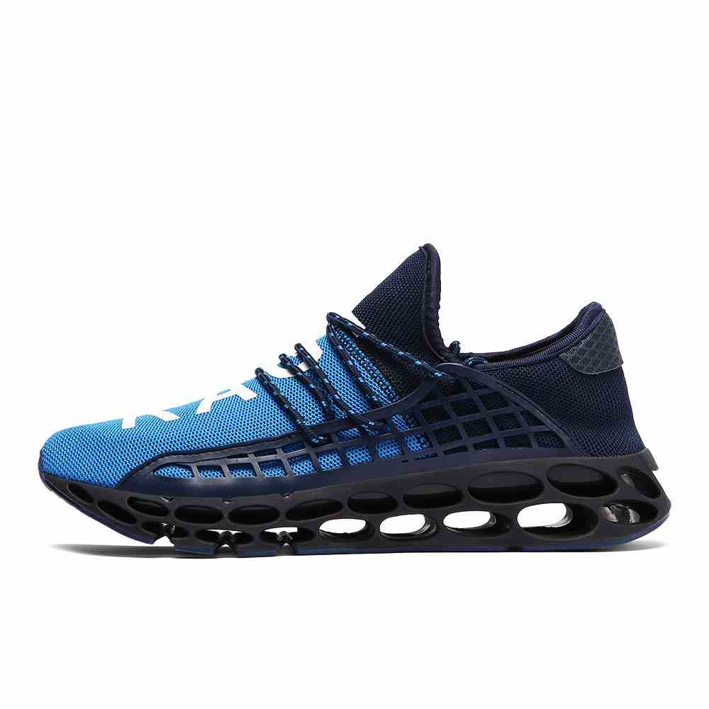 Mens Fashion Sneakers Casual Breathable Mesh Walking Shoes