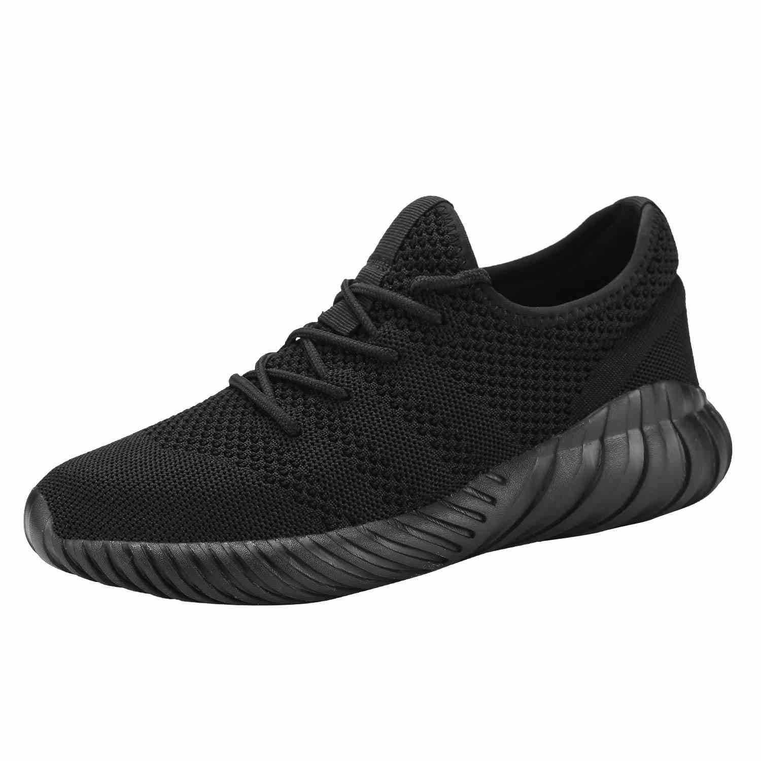 Mens Sport Baseball Shoes Knitted Fashion Outdoor Sneakers